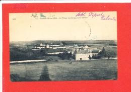 14 VIERVILLE Sur MER  Cpa Le Village Du Chateau Vu Du Clocher           A D 21 - Other Municipalities