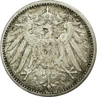 Monnaie, GERMANY - EMPIRE, Wilhelm II, Mark, 1908, Karlsruhe, TTB+, Argent - [ 2] 1871-1918: Deutsches Kaiserreich