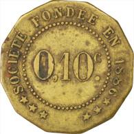 Châlons-sur-Marne, Société De Consommation, 10 Centimes, Elie 25.2 - Monetari / Di Necessità