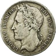 Monnaie, Belgique, Leopold I, 5 Francs, 5 Frank, 1849, TB+, Argent, KM:3.2 - 11. 5 Francos