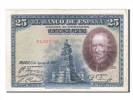 [#256049] Espagne, 25 Pesetas, Type Calderon De La Barca - 1-2-5-25 Pesetas