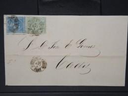 ESPAGNE - Lettre 1874 Avec Timbre - Impôts De Guerre - Détaillons Collection - A Voir - Lot N° 6162 - 1873 1. Republik