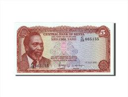 [#305760] Kenya, 5 Shillings Type Mzee Jomo Kenyatta - Kenya