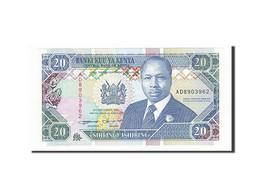 [#156954] Kenya, 20 Shillings Type Arap Moi - Kenya