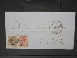 ESPAGNE - Lettre 1874 Avec Timbre - Impôts De Guerre - Détaillons Collection - A Voir - Lot N° 6169 - 1873 1. Republik