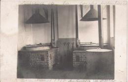 ERQUELINNES (BELGIQUE HAINAUT) CARTE PHOTO SOUVENIR DE LA SOUPE POPULAIRE GUERRE 1917 - Erquelinnes