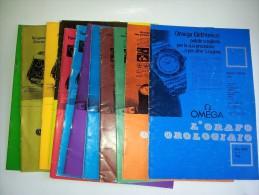 M#0F2 L´ORAFO OROLOGIAIO 12 Riviste 1976/1982/OROLOGI - Gioielli & Orologeria