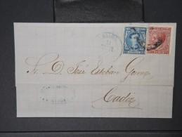 ESPAGNE - Lettre 1874 Avec Timbre - Impôts De Guerre - Détaillons Collection - A Voir - Lot N° 6182 - 1873 1. Republik