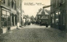 WERVIK - WERVICQ - BELGIË - BELGIQUE - PEU COURANTE CPA FELDPOST BIEN ANIMEE DE 1915. - Wervik