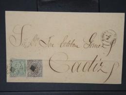 ESPAGNE - Lettre 1874 Avec Timbre - Impôts De Guerre - Détaillons Collection - A Voir - Lot N° 6186 - 1873 1. Republik