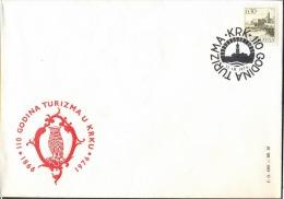 YUGOSLAVIA - JUGOSLAVIA - OWLS  ARMS Of Insel KRK - VEGLIA - 1976 - Eulenvögel