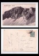 Cartolina/postcard Gran Sasso d'Italia - Ghiacciaio. 1918