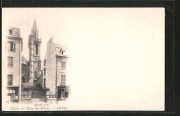 CPA Morlaix, Clocher De L'église Sainte-Mélaine - Morlaix