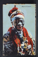 Old Africa Postcard - Negre Du Soudan/ Black Man From Sudan - Sudán