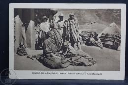 Old Africa Postcard - Algeria - Missions Du Sud - Afrique - Salon De Coiffure Pour Dames (Basutoland) - Otros