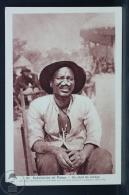 Old Africa Postcard - Subdivision De Paoua - Un Chef De Village - República Centroafricana