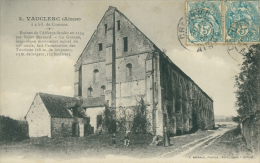 02 BOUCONVILLE VAUCLAIR / Ruines De L'Abbaye De Vauclerc / - Other Municipalities