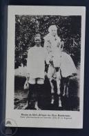 Old Africa Postcard - Missions Du Shiré  (D´Afrique) - Des Peres Montfortains - Soeur Pharmacienne En Tournée - Postales