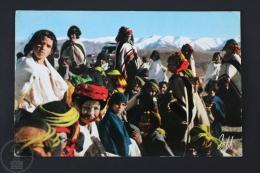 Vintage Africa Postcard - Scenes Et Types - African People - Otros