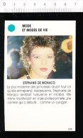 Stéphanie De Monaco  /  167-ES-MOD/2 - Vieux Papiers
