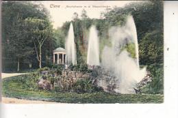 4190 KLEVE, Amphitheater Mit Den Wasserkünsten, 1908 - Kleve