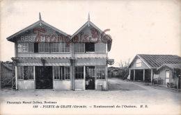 (33) La Pointe De Graves / Grave - Restaurant De L´Océan - 2 SCANS - France