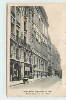 PARIS - Rue Sablons, Bureau Central Téléphonique De Passy. - Arrondissement: 16