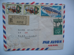 Enveloppe Du Tchad Vers Le Tchad - 1966 - Ciad (1960-...)
