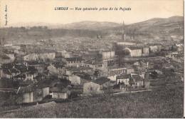 LIMOUX  VUE GENERALE PRISE DE LA PUJADE - Limoux