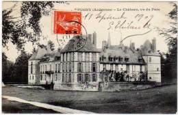 Thugny - Le Château, Vu Du Parc - France