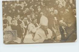 AURAY - Bénédiction De Monseigneur Duparc (évêque De Quimper); Le 29 Février 1908. (carte Photo Vendue En L'état) - Auray