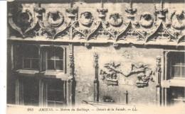 POSTAL   265.-  AMIENS  -FRANCIA   -MAISON DU BAILLIAGE  - DETALLES DE LA FACHADA - Amiens