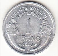 FRANCIA 1948B. 1 FRANCO  CERES.ALUMINIO .GRABADOR MORLON    EBC  CN4311 - Francia