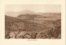 """Photo : Baie De Nouméa - Format 20 X 29 - """"Librairie De L'enseignement """" - 1936 - (t486) - Luoghi"""