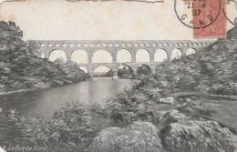 Cpa N° 2 LE PONT DU GARD - France