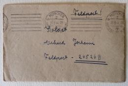 Feldpost Munchen Data 20/03/1944 Manoscritto - Documenti