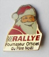 Pin's Rallye Fournisseur Officiel Du Père Noel - 02R - Otros