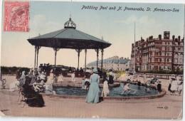 CPA Colorisée Animée - Paddling Pool And N. Promenade - St. ANNES ON SEA - 1916 - Otros