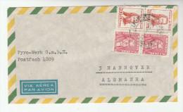 1967 Air Mail BRAZIL COVER  To Germany  2x 200.00 Tiradentes 2x 20.00  Bonifacio To Germany - Brazilië