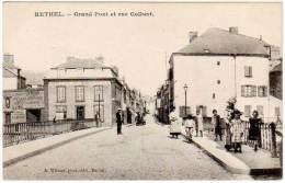 Rethel - Grand Pont Et Rue Colbert - Rethel