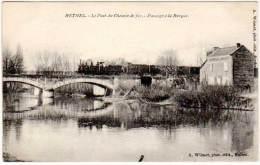 Rethel - Le Pont Du Chemin De Fer - Passage à La Barque ( Train ) - Rethel
