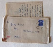 Feldpost Manoscritto Completo Con Timbro Controllo Censura Data 19/06/1942 - Documents