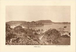 """Photo : Nlles Hébrides(Vanuatu) Port-Vila- Fmat  20 X 29 - """"Librairie De L´enseignement """" - 1936 - (t921) - Luoghi"""