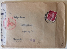 Feldpost Gotenhafen Data 13/02/1942 Manoscritto Timbri Censura - Documents