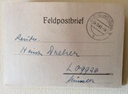 Feldpostbrief  Oldenburg Data 04/10/1943 - Documenti