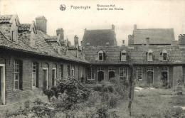 BELGIQUE - FLANDRE OCCIDENTALE - POPERINGE - POPERINGHE - Weduwen-Hof - Quartier des Veuves.
