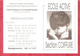 1994- Ecole Active Section Coiffure - Institut Technique De Rance - Calendarios