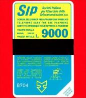 Nuova - Scheda Telefonica - Italia - SIP - SIDA NUOVA - Terzo Gruppo Sida  - C&C 1055 - Golden P48 - Italia