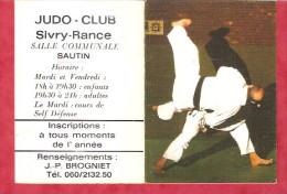 1985 - JUDO-CLUB Sivry- Rance - Calendriers