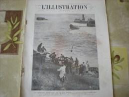 L'illustration (F), 8/2/1930, Un Sauvetage Dramatique Sur La Côte Basque +  Fête Des Pompiers Japonais - Livres, BD, Revues